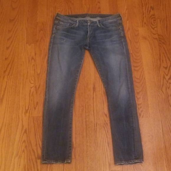 Citizens Of Humanity Denim - Citizens of Humanity distressed ankle Jean's 32